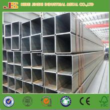 Q235 40x40mm galvanized square pipe / square steel tube /square steel post
