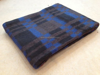 South America Hot sell Tartan Style Recycled Blanket