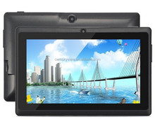 7 inch Allwinner A33 quad core 512MB RAM 4GB ROM Q88 android tablet pc