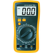 New Digital Multimeter Electrical Meter AC/DC Auto Manual Beep Indicator VC9205A+