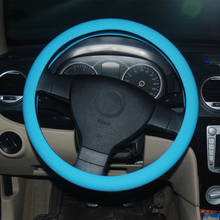 factory supply red passion silicone cover for car steering wheel