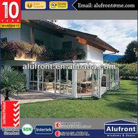 High Quality New Design Aluminium Glass Garden House made in China