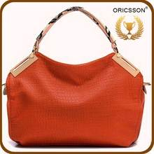 Fashion Leather Hand Bags Ladies Wholesale Guangzhou Handbag Factory