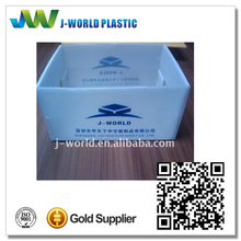 Customized durable plastic case for frozen meat manufacturer