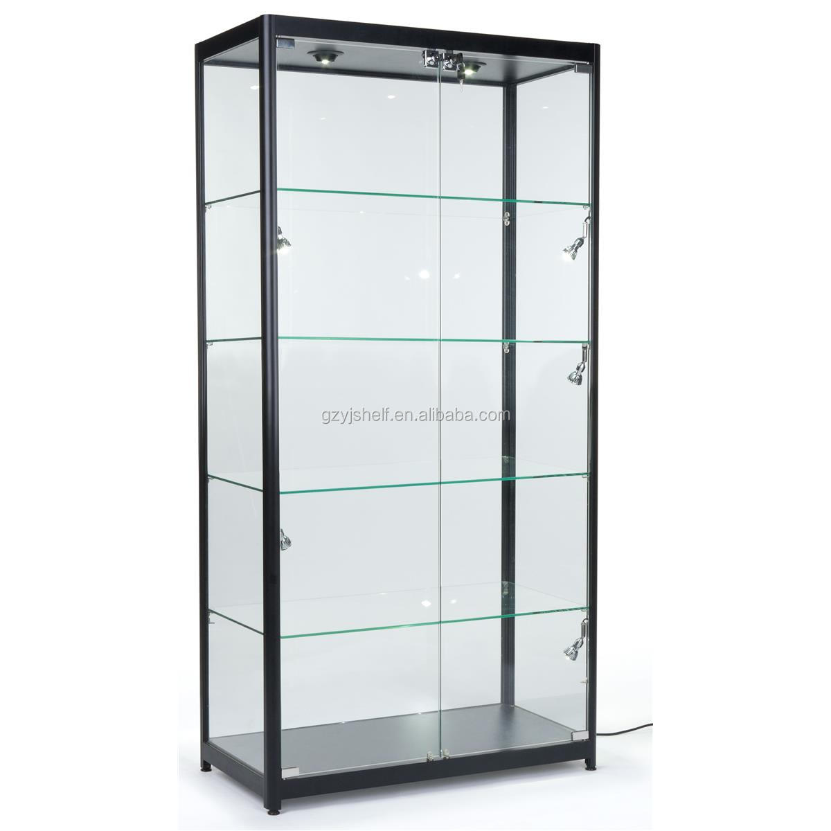 Hot Sell Glass Store Mobile Phone Display Showcase