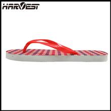 Mujeres básicas de eva de goma de la sandalia, 2015 nuevos productos de caucho flip flop