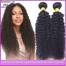 Manufacturer wholesale Mongolian Brazilian human virgin hair, Mongolian Brazilian kinky curly hair