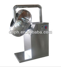 2012 best seller fully stainless steel wide output almond sugar coating machine
