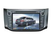 8.0 inch custimised car dvd for N i s s a n Blue bird S y l p h y 2012