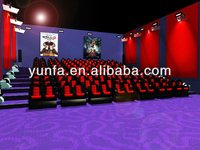 4D 5D 7D 9D motion theater,cinema theater equipment for sale
