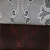 Modern curtain design jacquard fabric curtains for door