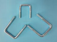 M16 zinc plated U bolt
