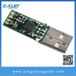 USB Flash Drive PCBA Manufacturer PCB Layout Component Assembly BY SMT ,AOI ,DIP With Fast Delivery