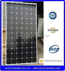 Cheap 290Watt monocrystalline price per watt solar panel from china
