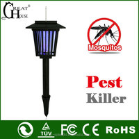 garden tool pest control product Solar mosquito repeller with LED Lamp GH-327