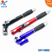 multi-funtional pen with LED light and nail clipper