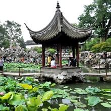 Asian Style Garden Decoration Classic Chinese Wood Gazebo