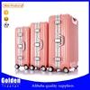 superior quality ABS PC luggage set super light 3pcs unique suitcase set