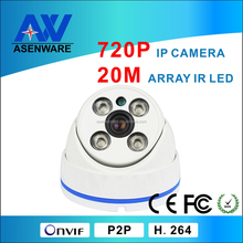 Low Price network CCTV Camera, 1 Megapixel IP Camera support Android and smart phone