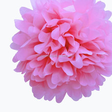 16inch 40cm Paper Flowers wedding wall decorations with factory price