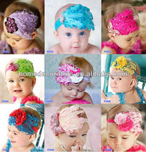2014 Latest Feather Headbands for baby