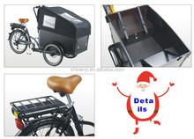 6 speeds pedelec power assist LCD display panel three wheels /7 speeds electr adulc argo bike/transport bike for adult