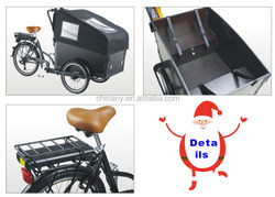 6 speeds pedelec power assist LCD display panel three wheels /7 speeds electr adulc argo bike/transport bike for adult
