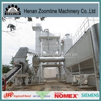ZAP-S120 twin-shaft asphalt/bitumen mixing equipment