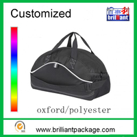 Promotional Customized waterproof oxford sports travel duffle bag