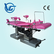 Hydraulic Obstetric Delivery Surgical Table / Gynecology Operating Room Table / Obestetric and Gynecology Beds