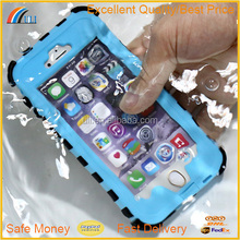 Water proof shock proof cell phone case for iPhone 6