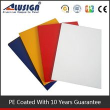 Alusign easy intalation acp latest decorative materials decorative stones for interior wall