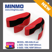 new design red pu handmade box, hot sell handmade glasses case for 3d glasses