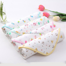 100% cotton terry baby hooded bath towel