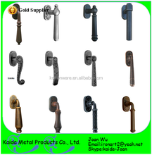 KDA Decorative Wrought Iron Door Pull Handles For Entry Door