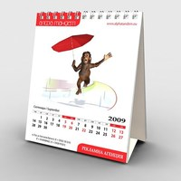 Wholesale Promotional Printable Perpetual Desk Calendar