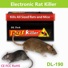 Best selling products household product 6000-8000V high voltage electronic mice rats killer rat mouse trap in pest control