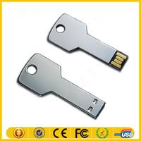 Key shape usb 2.0 logo custom usb flash drive 32gb