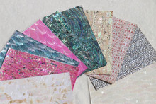 MOP, Paua, Abalone Seashell and River Shell Laminated Sheets, Veneers and Papers