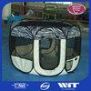 Foldable outdoor pet playpen hot sales,pet play yard playpen with zipped,fabric portable outdoor pet playpen