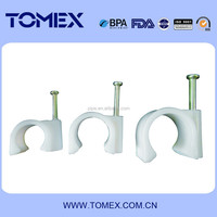 factory making plastic pvc electrical conduit clips made in China