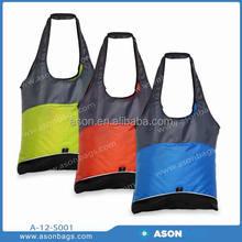 cheap polyester reusable shopping bag manufacturer