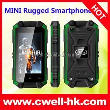 3G Android IP54 Waterproof Smartphone J5 mini small size mobile phone dual sim