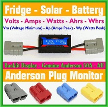 150A LCD Watt Meter Power voltage capacity & tester solar panels