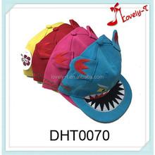 Hot sale Fashion adjustable sport hat monster ear baby hat snapback cap,ear baseball cap