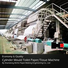 Shandong Xinhe 4200 Vat Former Toilet Paper Machine