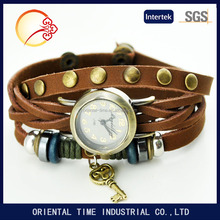 2016 latest design for ladies vintage bracelet watch new product for wholesale price factory OEM