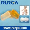 baby diaper, sanitary napkin hot melt glue block