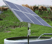 solar water pumping system for rural area and agriculture use