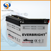 Durability 6v 11ah golden motors battery